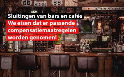 Covid-19 crisis – Brussel : Het SDZ eist dat elke verplichte sluiting van bars en cafés in Brussel, gekoppeld wordt aan degelijke compenserende steunmaatregelen voor de uitbaters!
