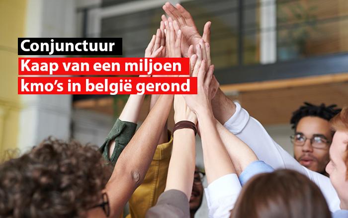 conjunctuur kaap van een miljoen kmo in belgie