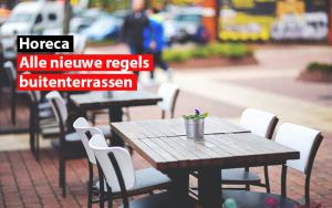 horeca belgie nieuwe regels buitenterrassen