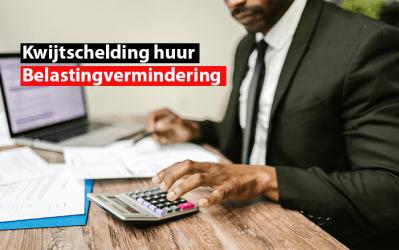Kwijtschelding huur: belastingvermindering