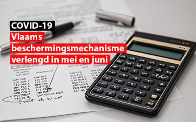 Vlaams Beschermingsmechanisme verlengd in mei en juni