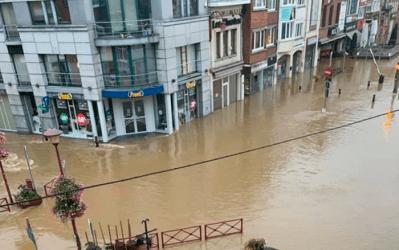 Overstromingen: hulp voor de zelfstandigen