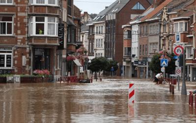Sociaal statuut van de zelfstandigen : steunmaatregelen voor zelfstandigen getroffen door de overstromingen